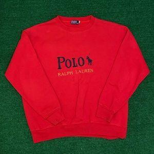 Vintage 90s Polo Ralph Lauren sweatshirt